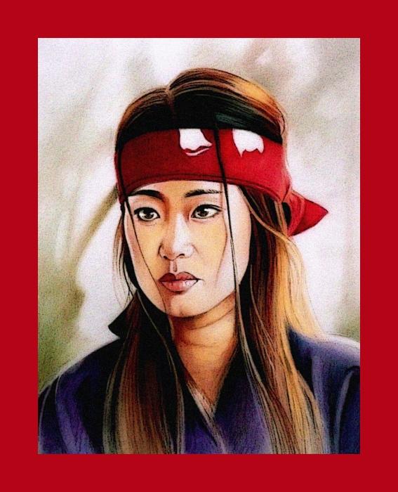 Gong Li by mariebouldingue